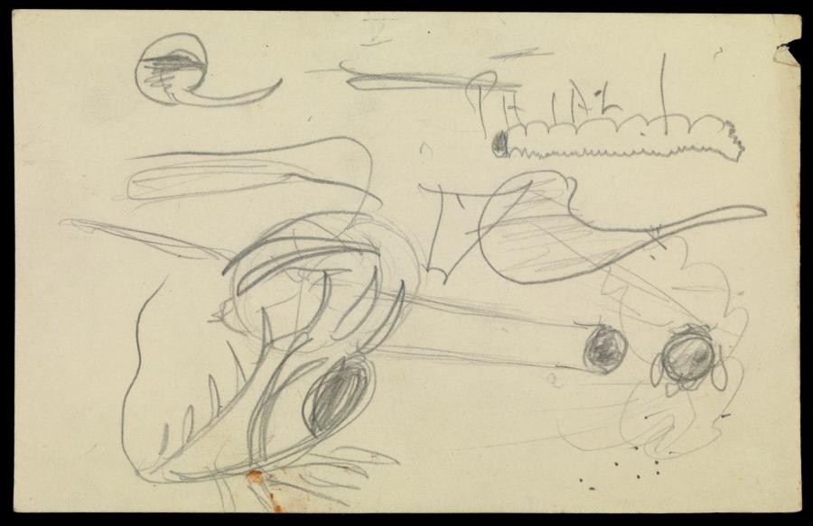 Klein儿童个案绘制的画作