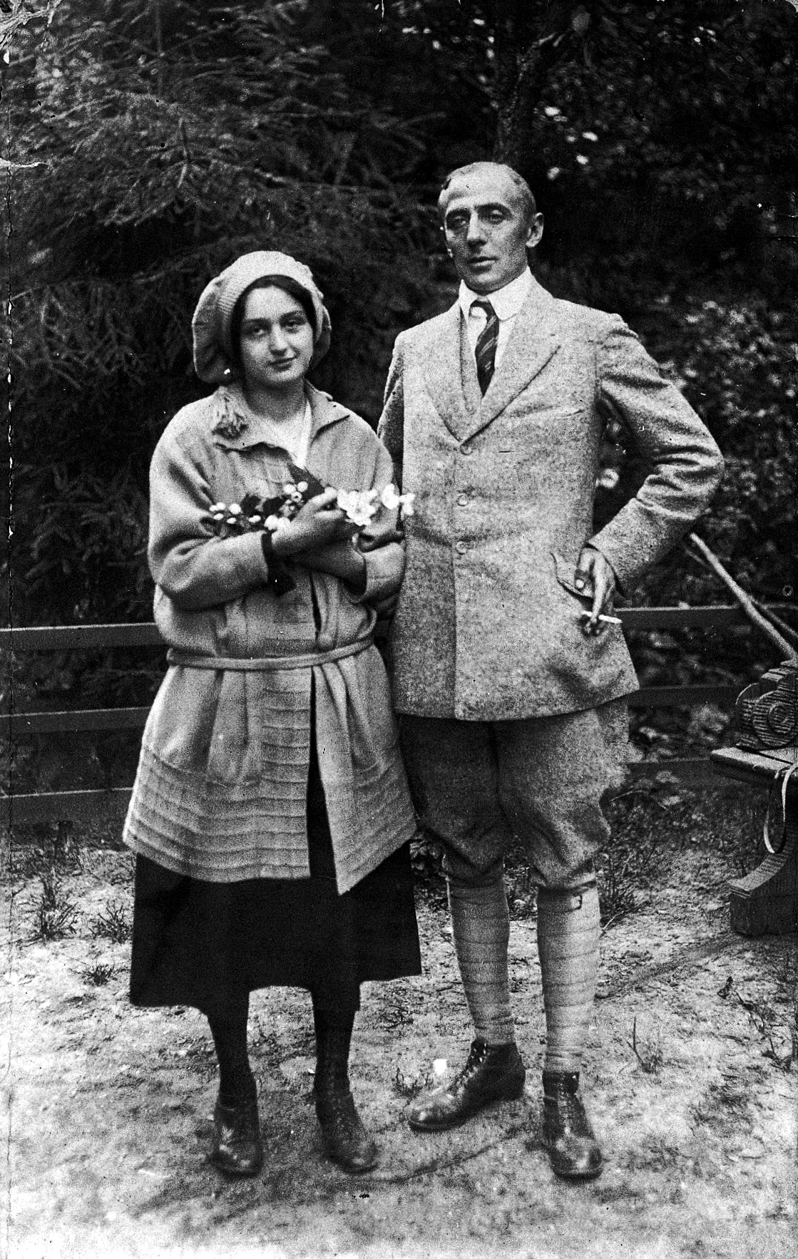 Photograph of Klein's daughter Melitta and her husband Walter Schmideberg