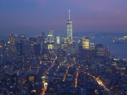 Arial photo of New York