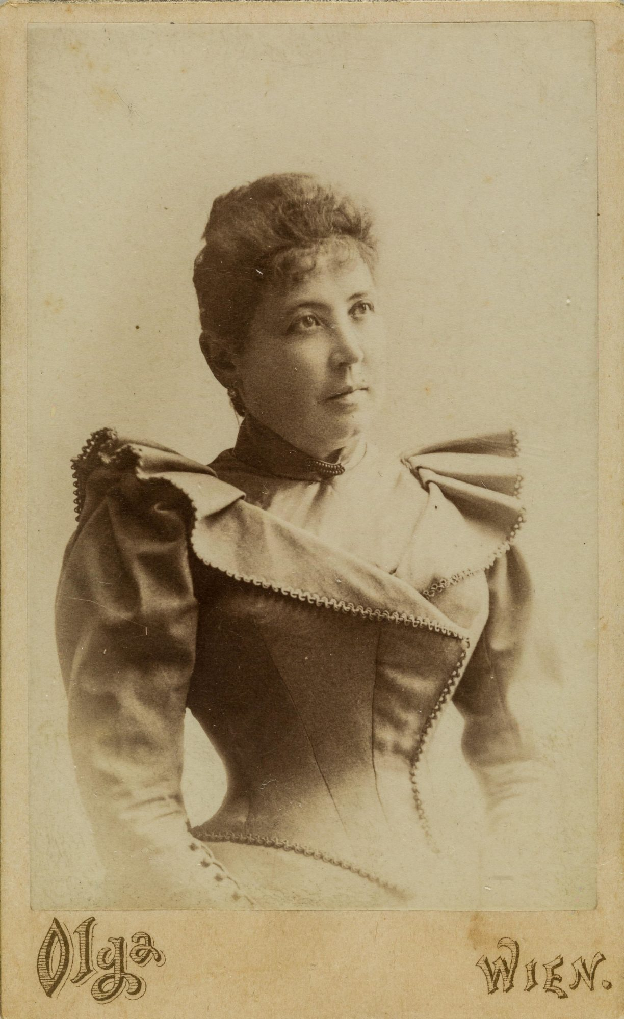 Photograph of Melanie's mother in about 1892