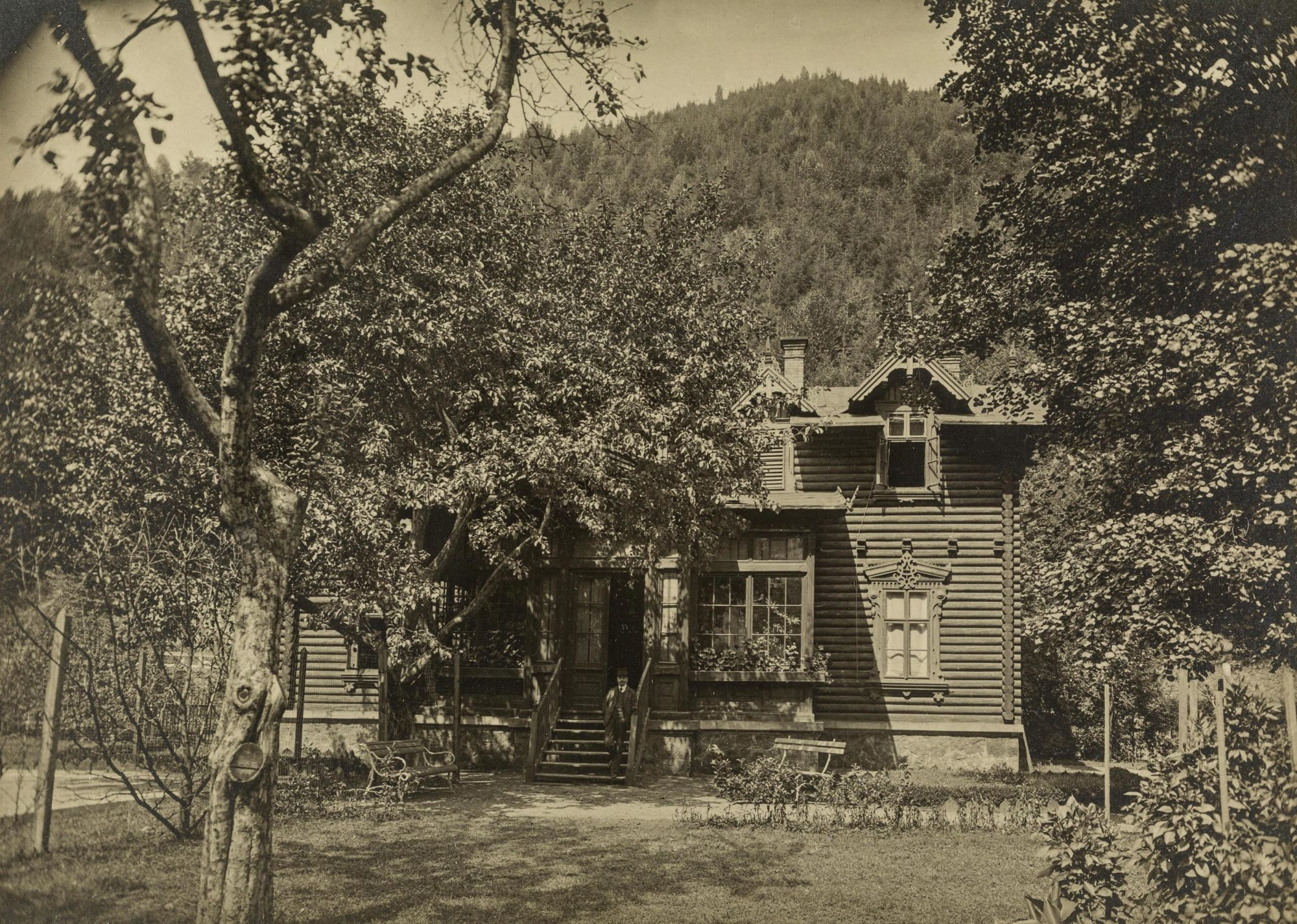 Photograph of Melanie Klein's home in Krappitz, around 1907