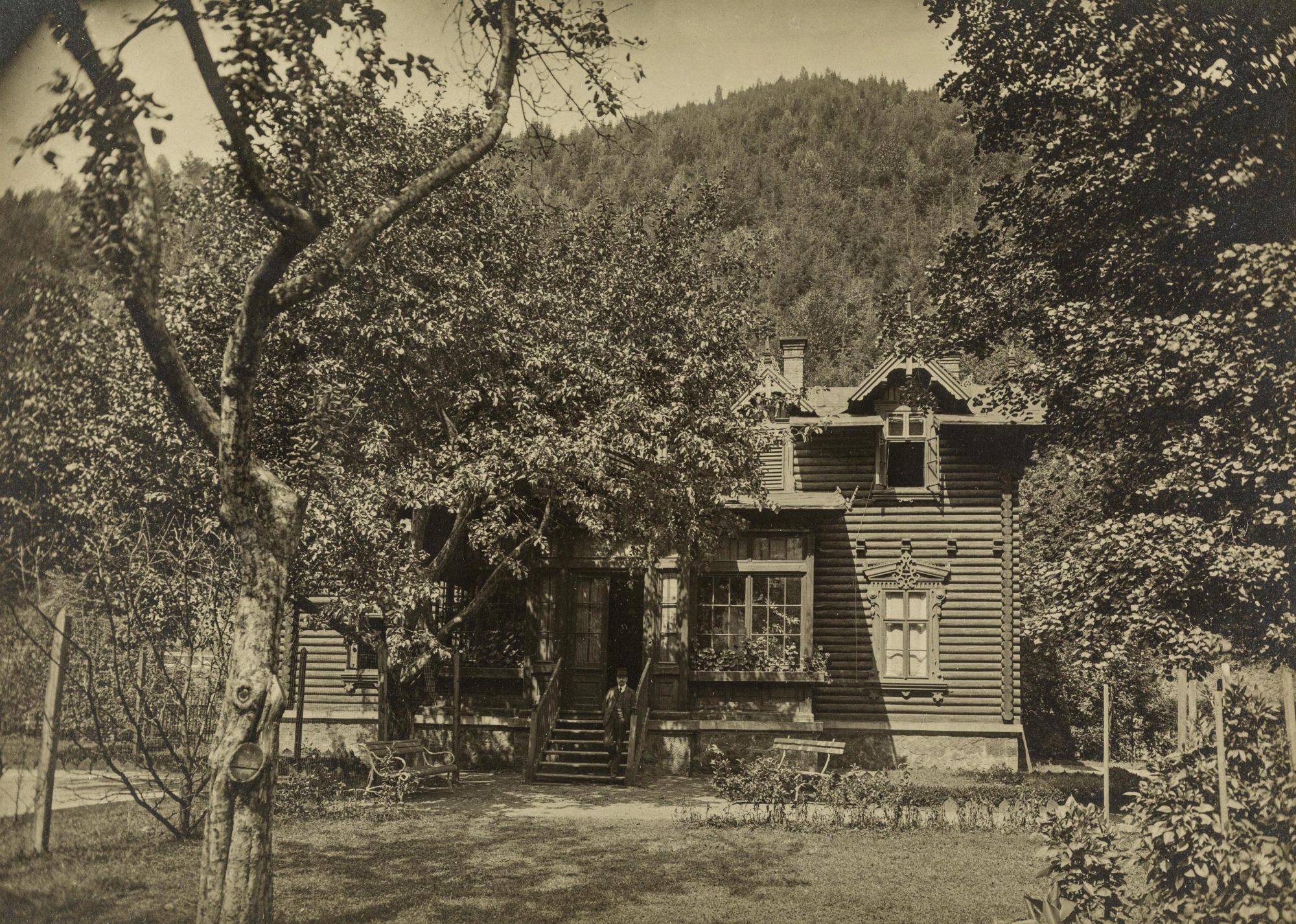 La maison des Klein à Krappitz, où la famille a vécu de 1907 à 1909