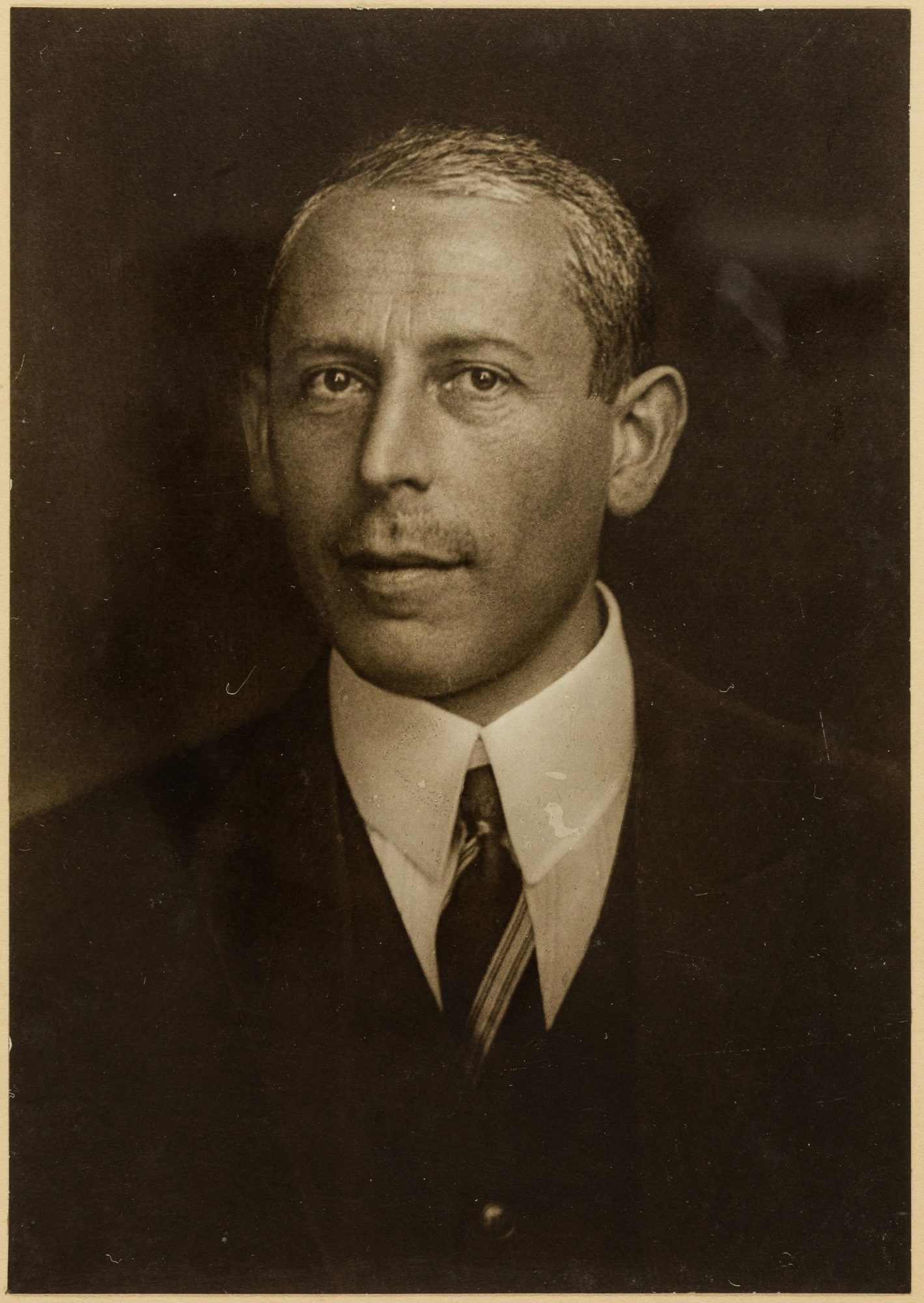 Photograph of psychoanalyst Karl Abraham