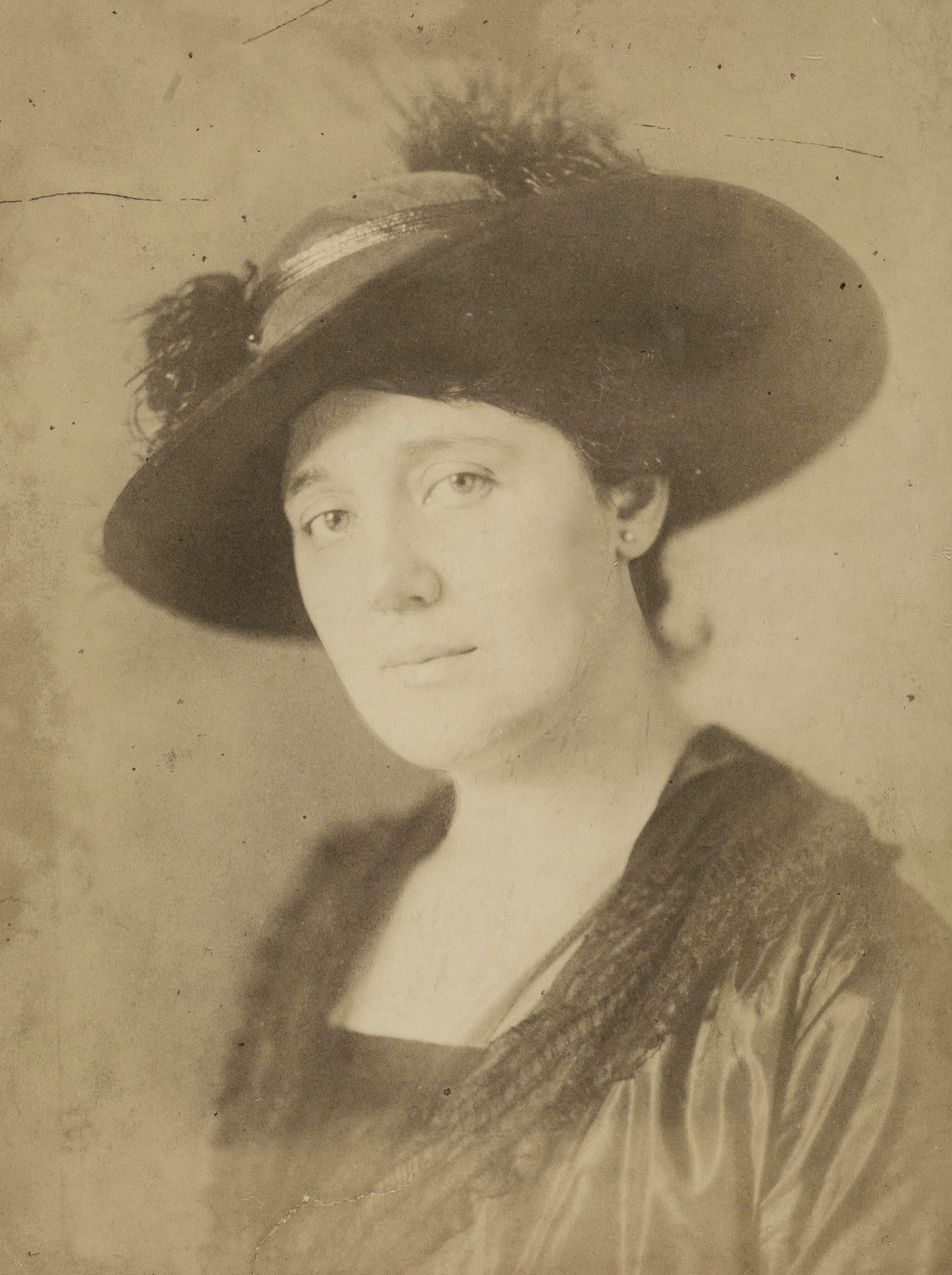 Photograph of Melanie Klein in about 1912