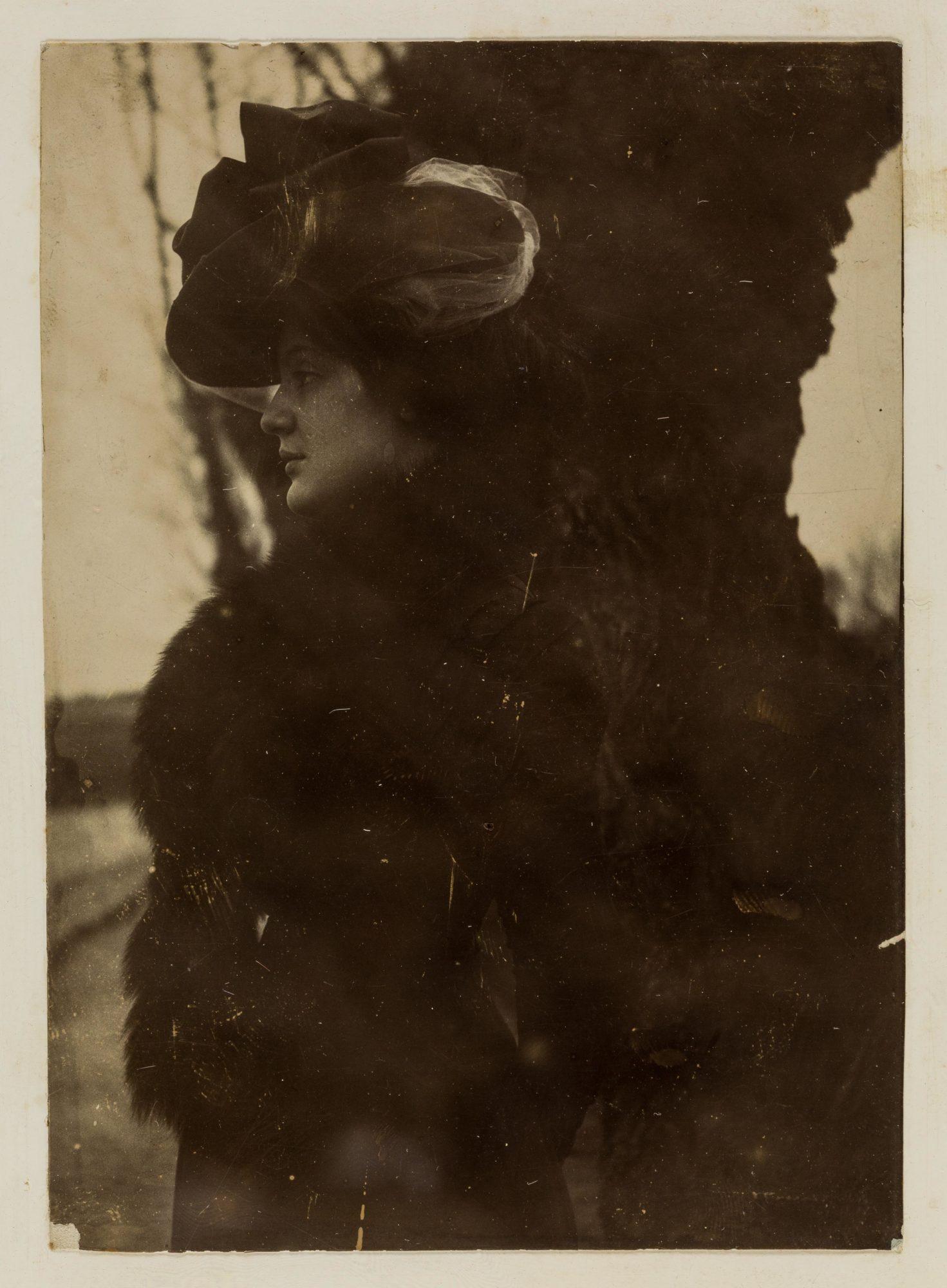 Melanie Klein 1906-1907间的模样