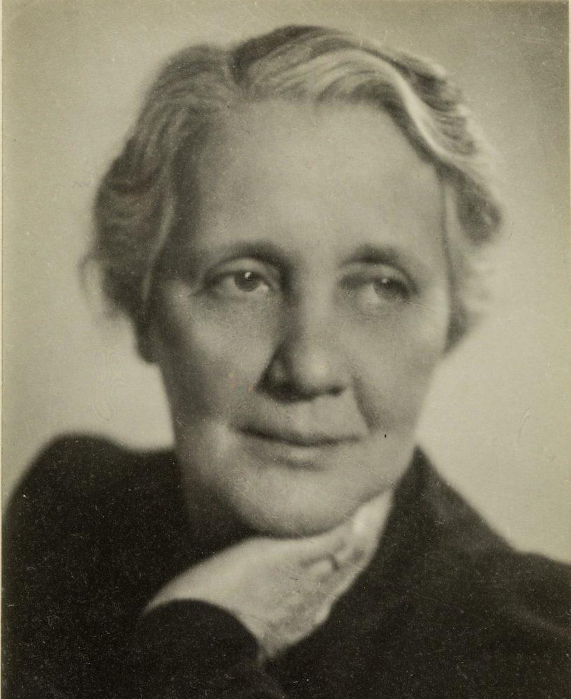 Фотография Кляйн в 1944 году, в возрасте 62 лет