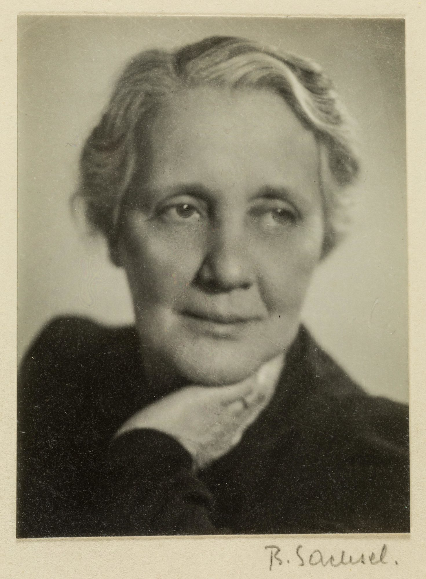 Photograph of Melanie Klein in 1944