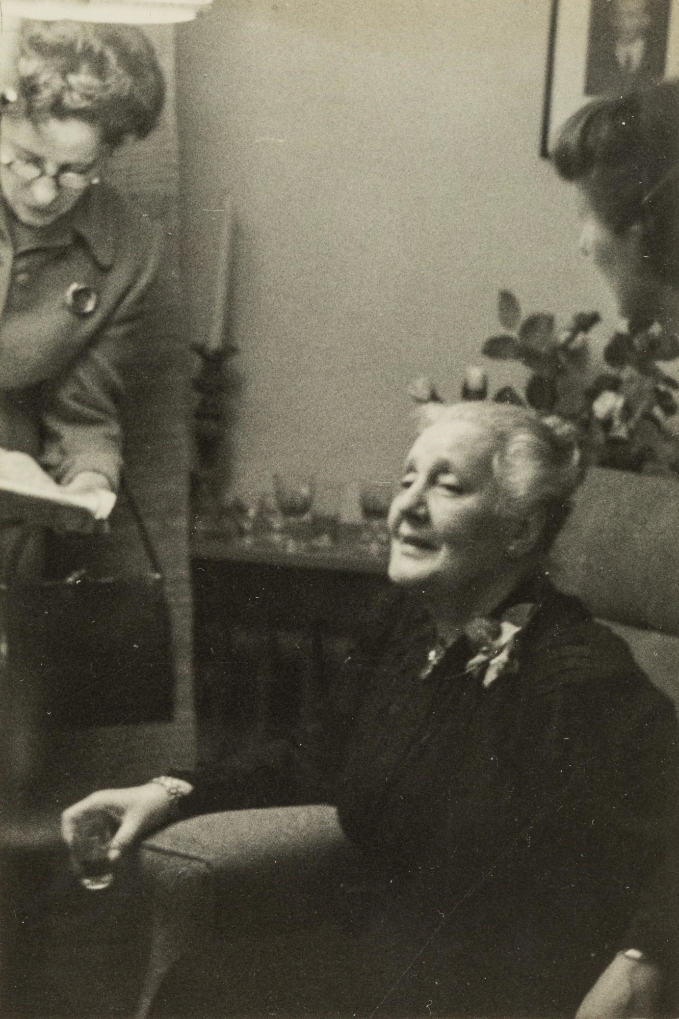 Photograph of Melanie Klein around 1950