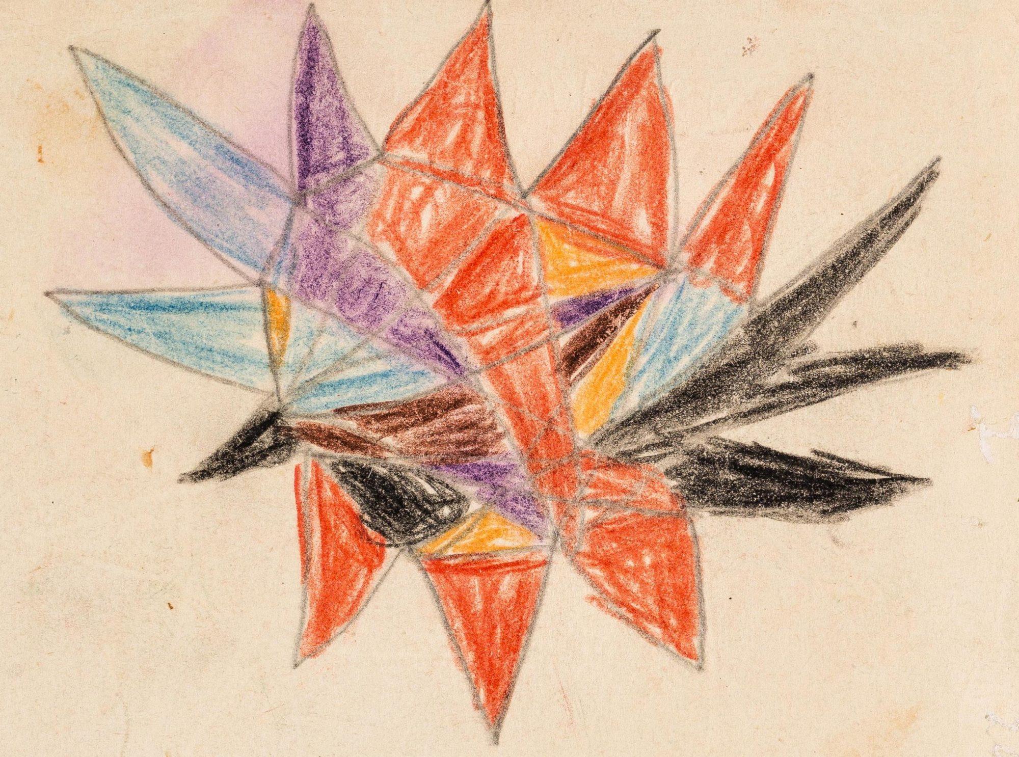 Un dessin de «Richard», patient de 10 ans de Melanie Klein