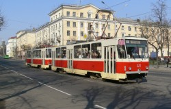 Photo of Tatra tram in Minsk