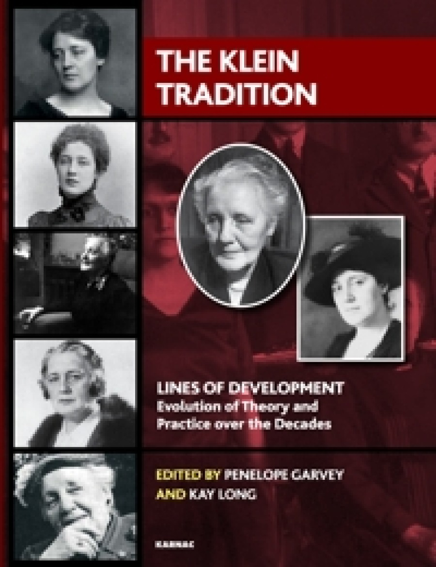 Cover of The Klein Tradition edited by Penelope Garvey and Kay Long