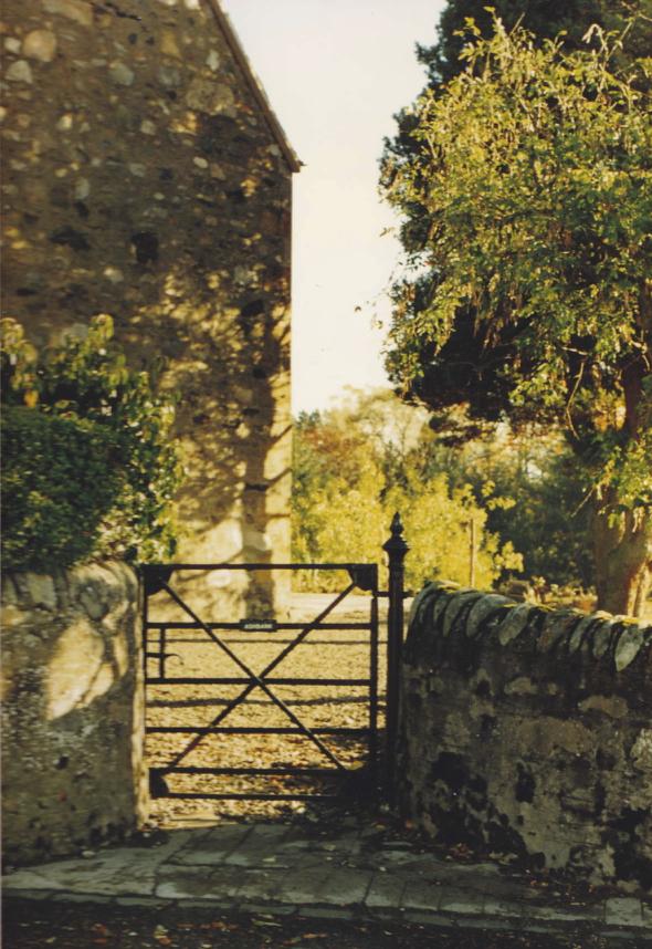 Photographie de la résidence de Melanie Klein à Pitlochry, Écosse