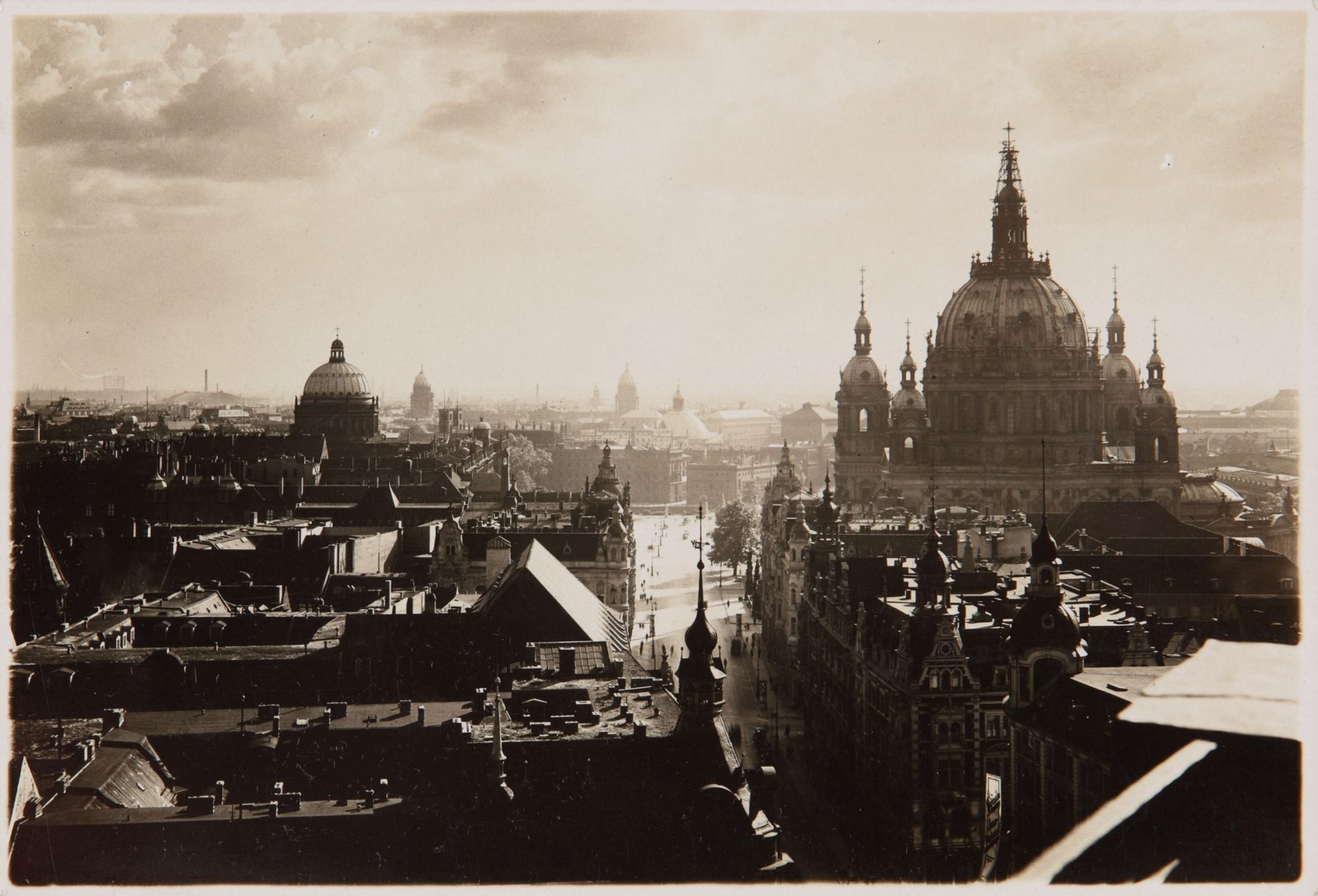 Photographie de Berlin en 1920