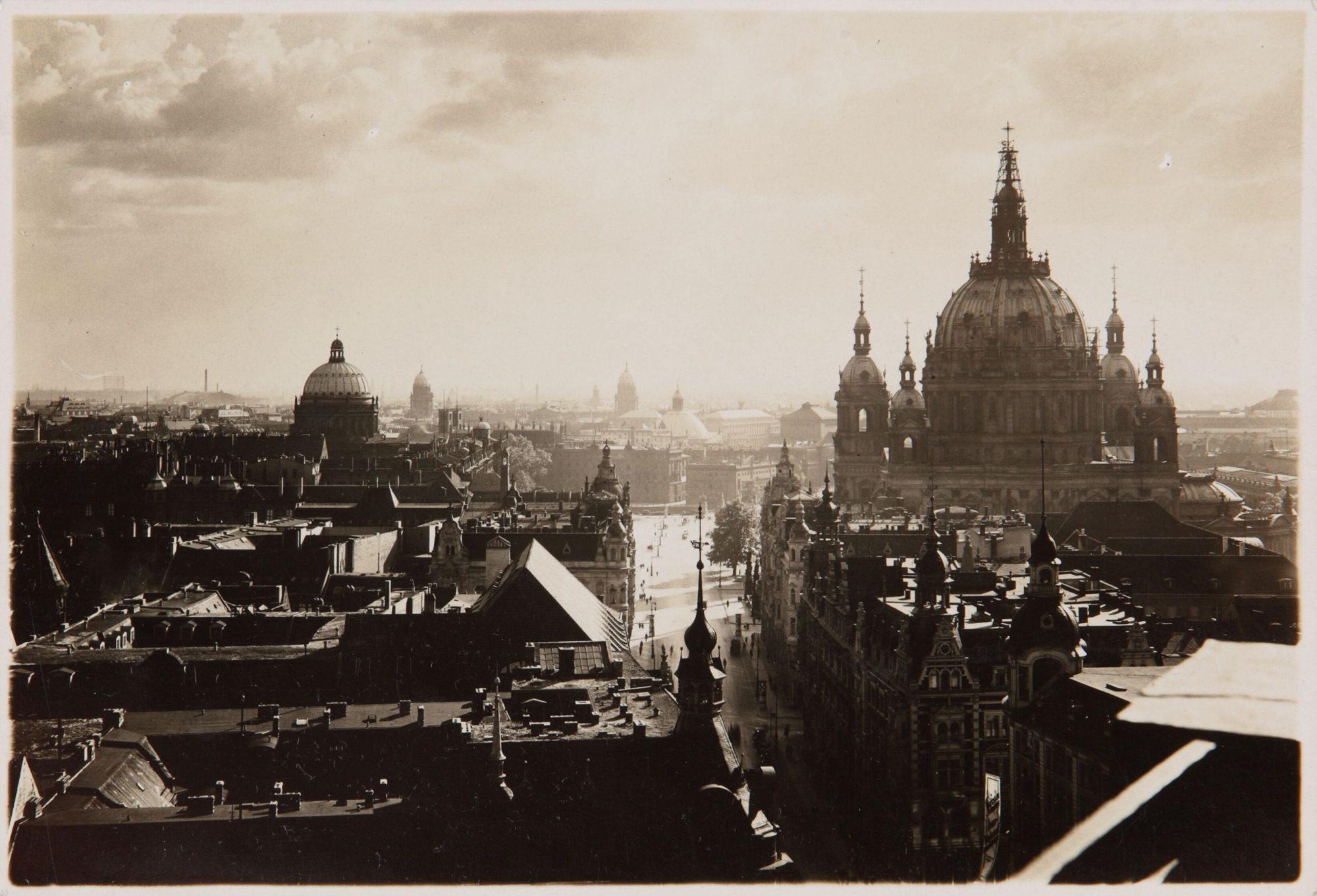 Photographie de Berlin en 1920