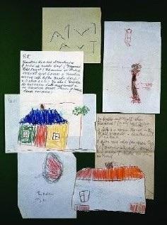 Dessins d'enfants utilisés par Melanie Klein