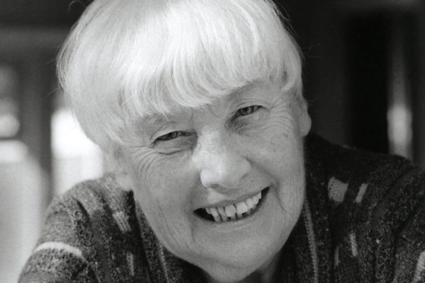 Photograph of psychoanalyst Frances Tustin