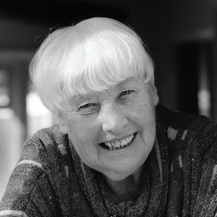 Photograph of psychoanalyst Frances Tustin