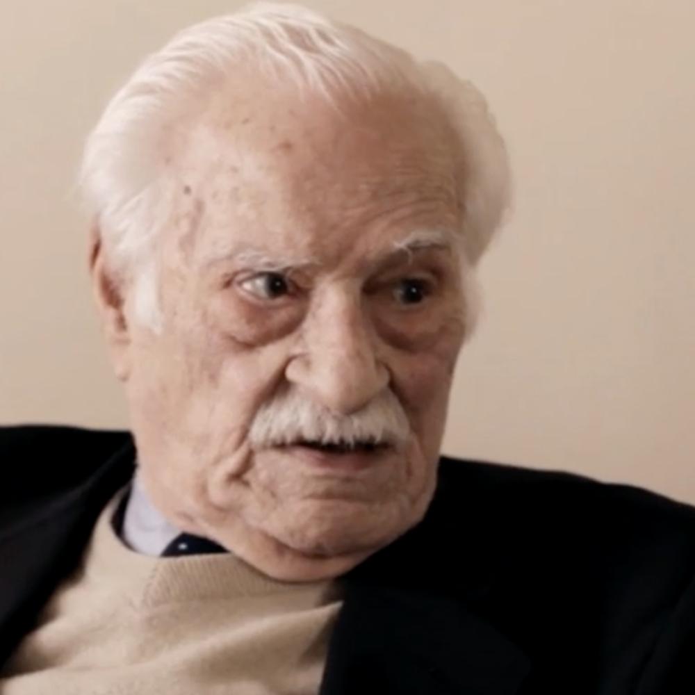 Photograph of psychoanalyst Horacio Etchegoyen