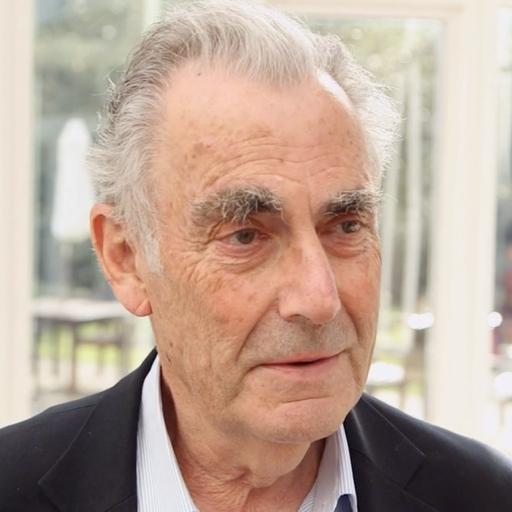 Photograph of psychoanalyst Michael Feldman