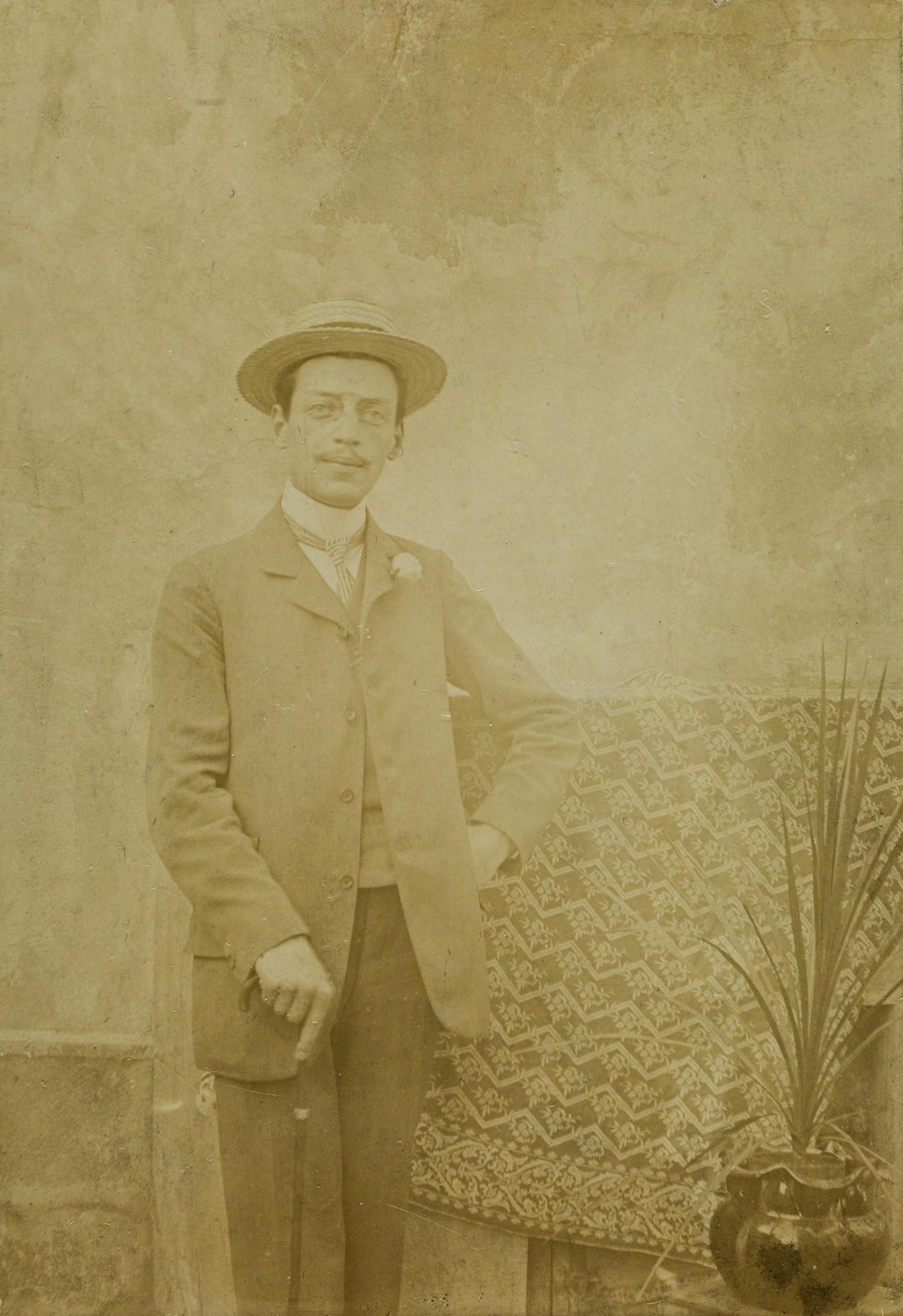 Photograph of Melanie's brother Emmanuel, around 1900