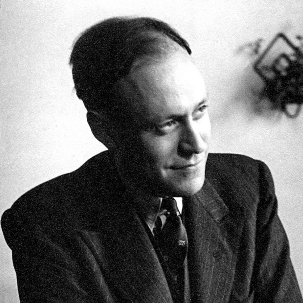 Photograph of psychoanalyst Herbert Rosenfeld