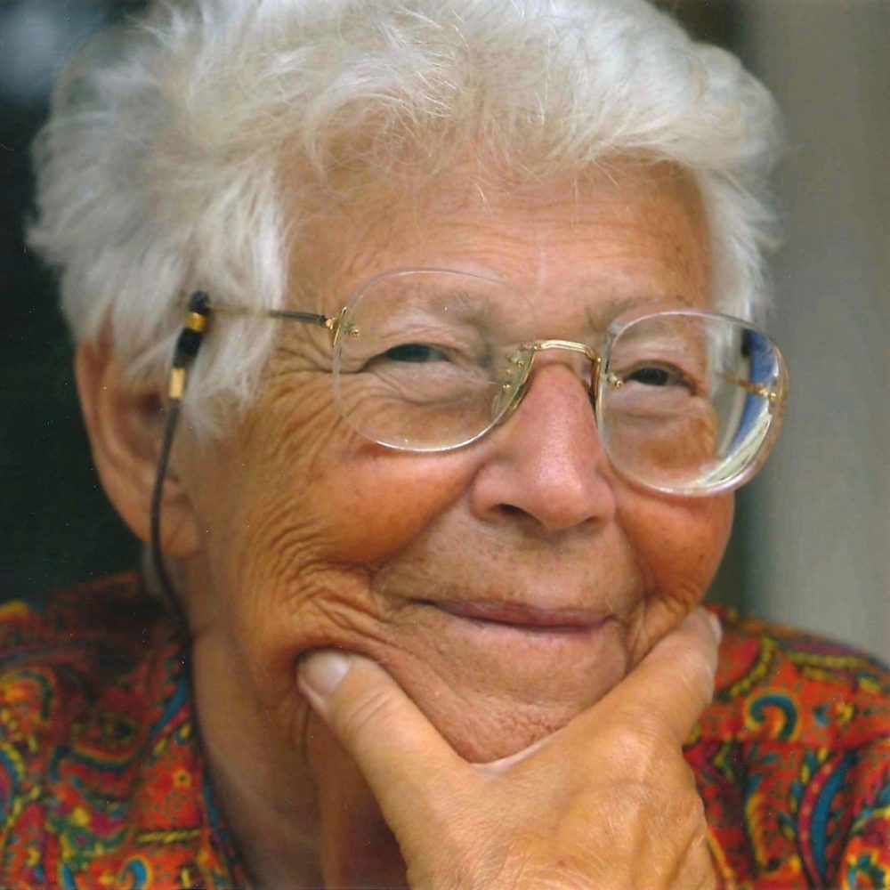 Photograph of psychoanalyst Hanna Segal