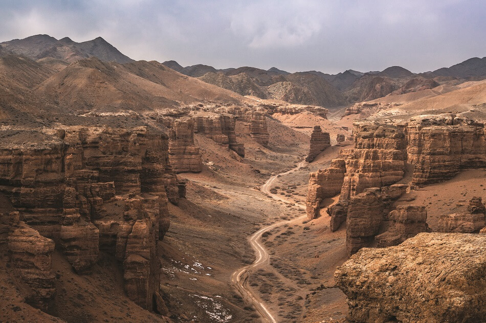 Photograph of Charyn Canyon