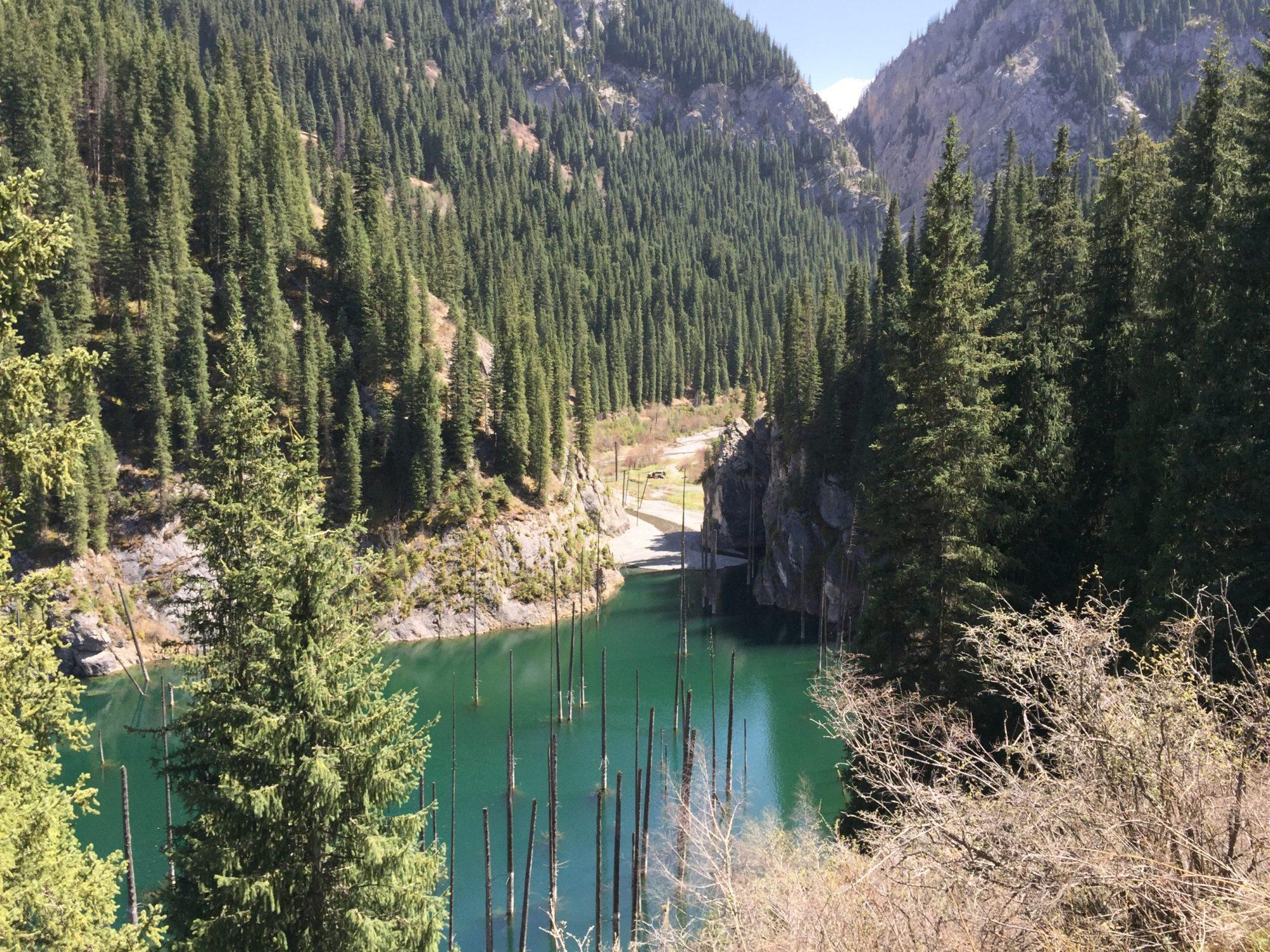 Photograph of Kaiyndy Lake, Kazakhstan